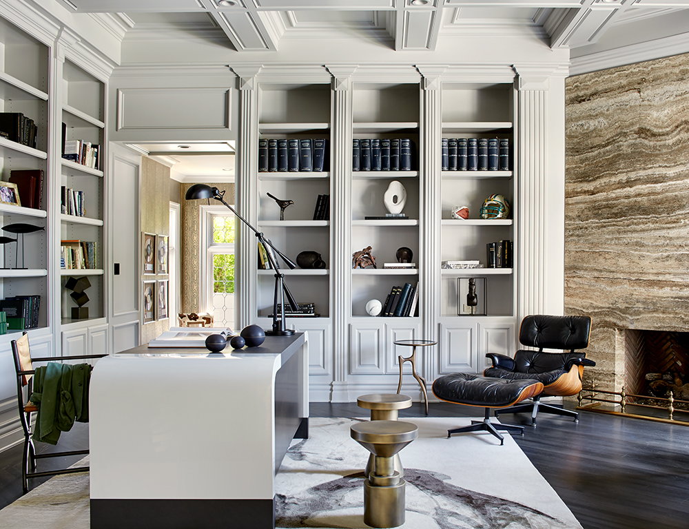 Marble-Fireplace-Office-Adam-Hunter-Interior-Designer-La-